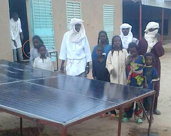 Les panneaux solaires sont installés à Tanfirgane !